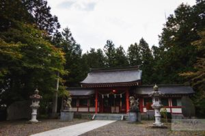 Fujiomurosengen Shrine Hongu