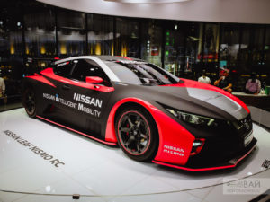 nissan crossing ginza