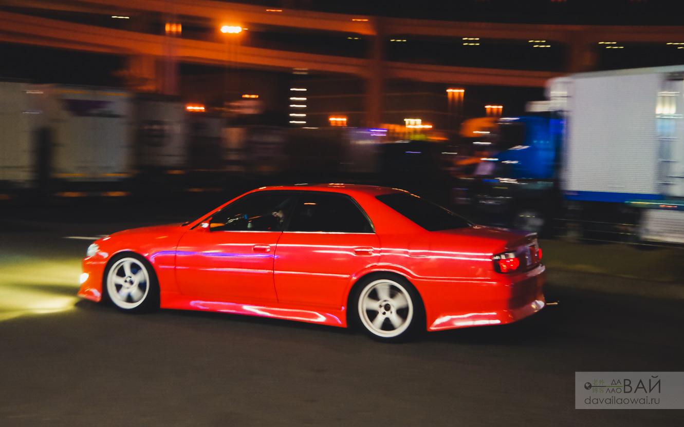 парковка дайкоку футо япония daikokyu furo night