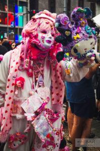 такесита улица модников в токио