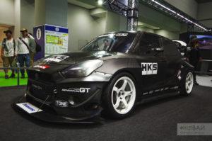 HKS Suzuki Swift timeattack