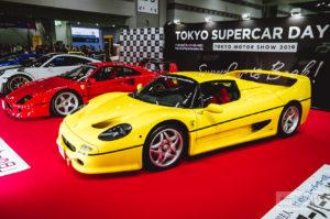 ferrari f50 tokyo motor show токио автошоу