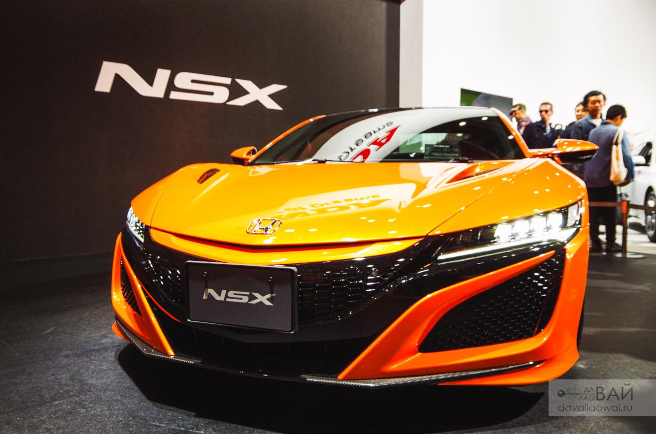 honda nsx tokyo motor show