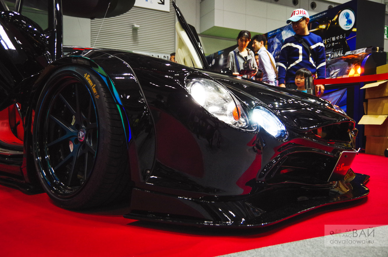 mitsuoka orochi tokyo motorshow 2019