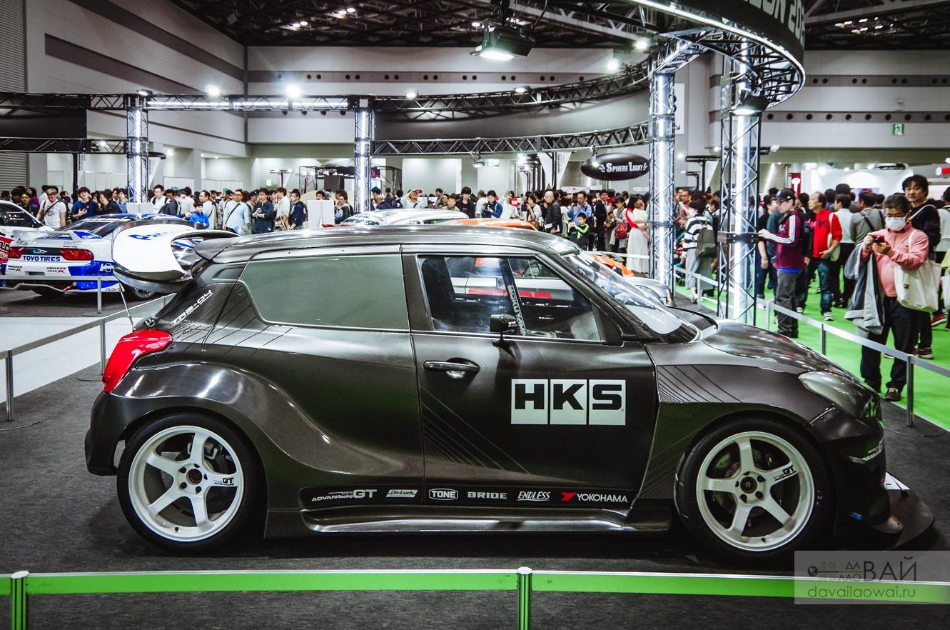 HKS Suzuki Swift TRB-04 timeattack