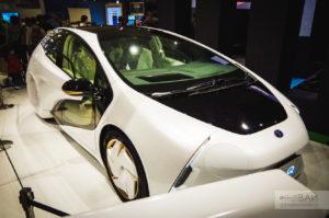 toyota prius future concept токийское автошоу