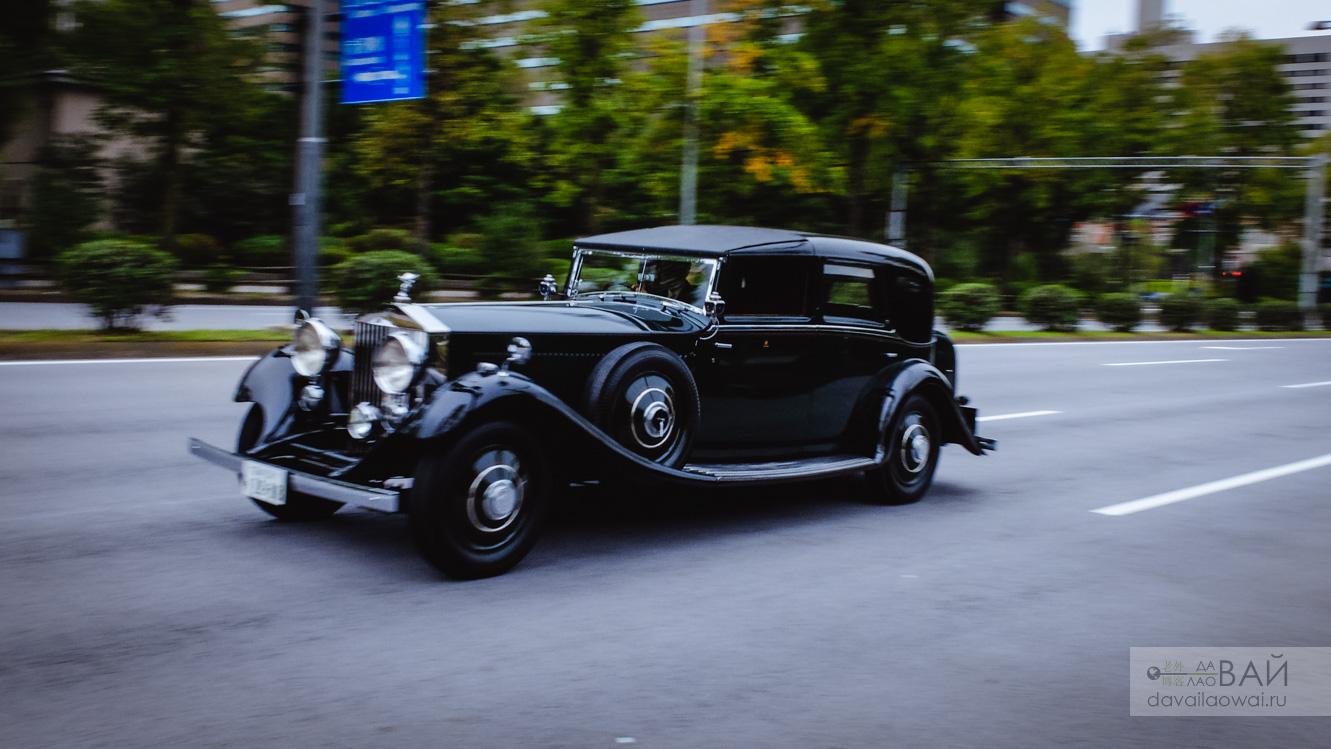 Rolls Royce Phantom II 1929 tokyo japan
