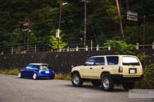toyota surf offroad