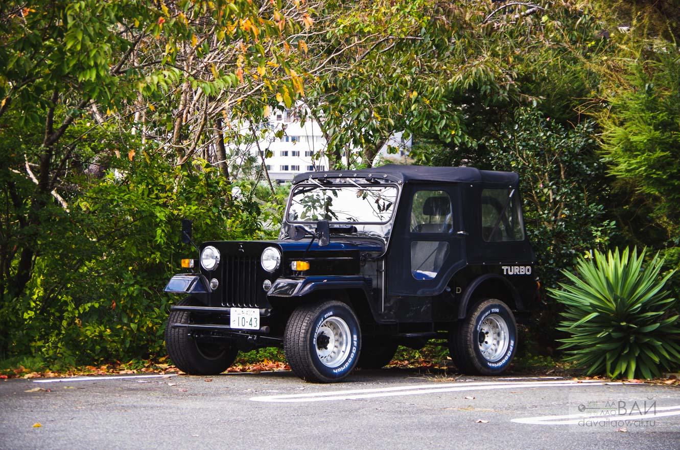 mitsubishi jeep 55 japan