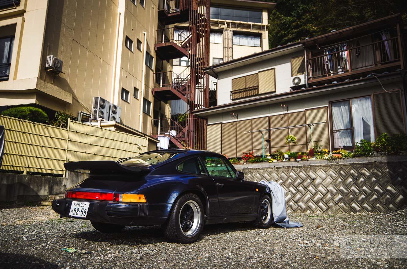 porsche 964 turbo kawaguchiko