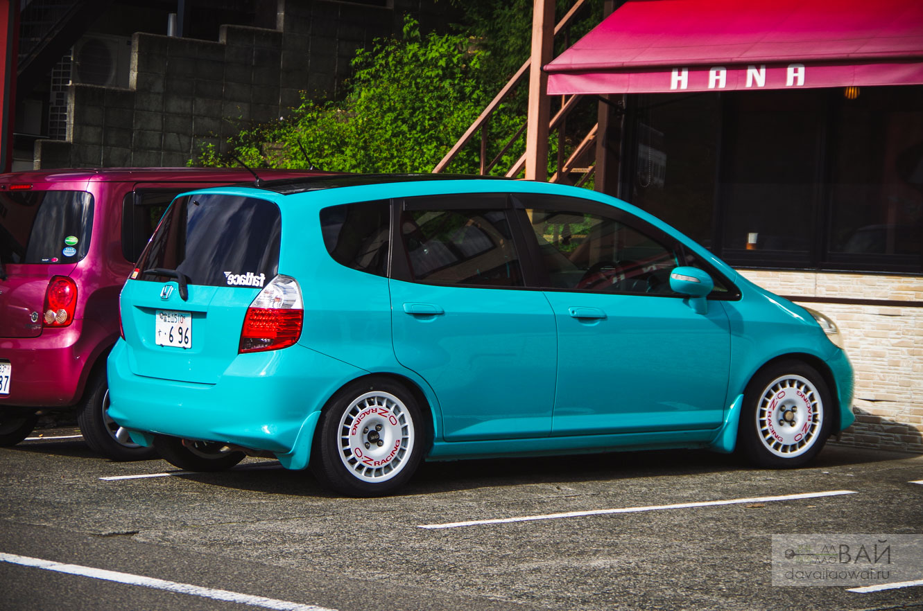honda fit on OZ rally rims