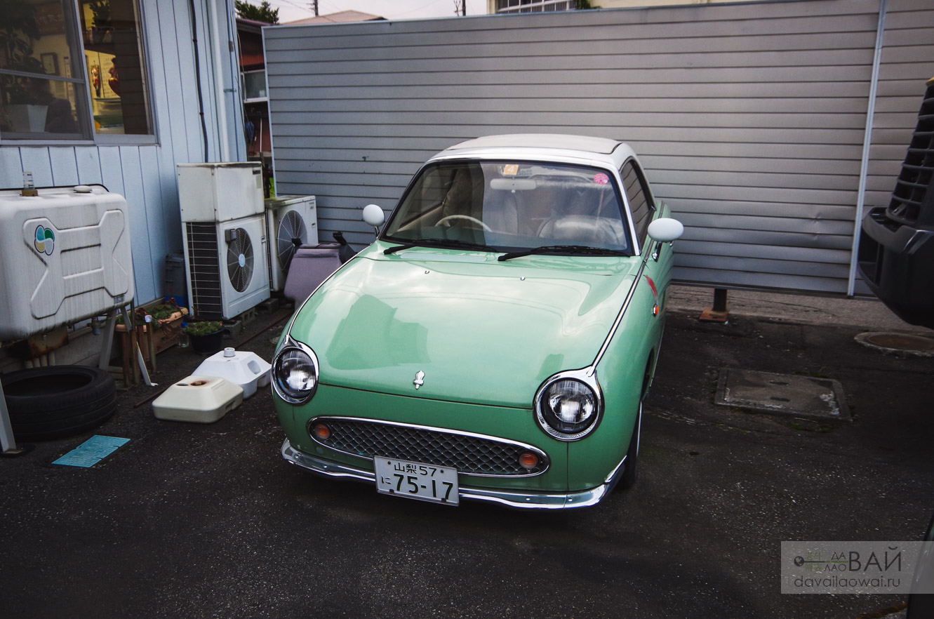 Nissan Figaro JAPAN photo