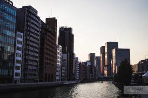 небоскребы осаки япония