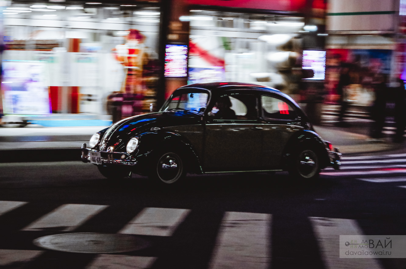 VW beetle kafer tokyo night