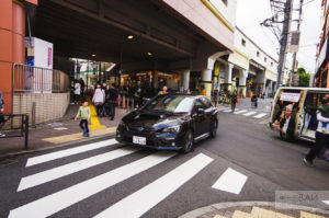 japanese cars street photo subaru