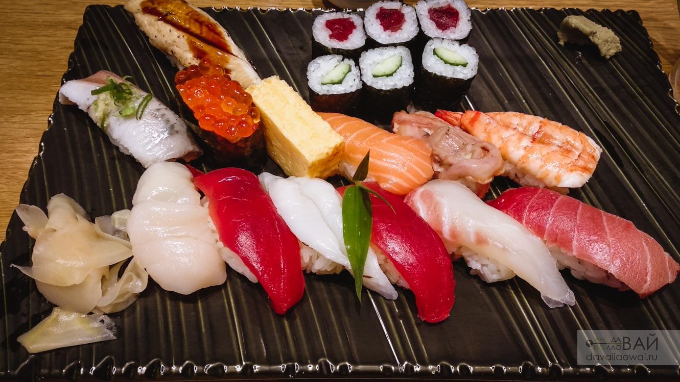 суши бар в осаке