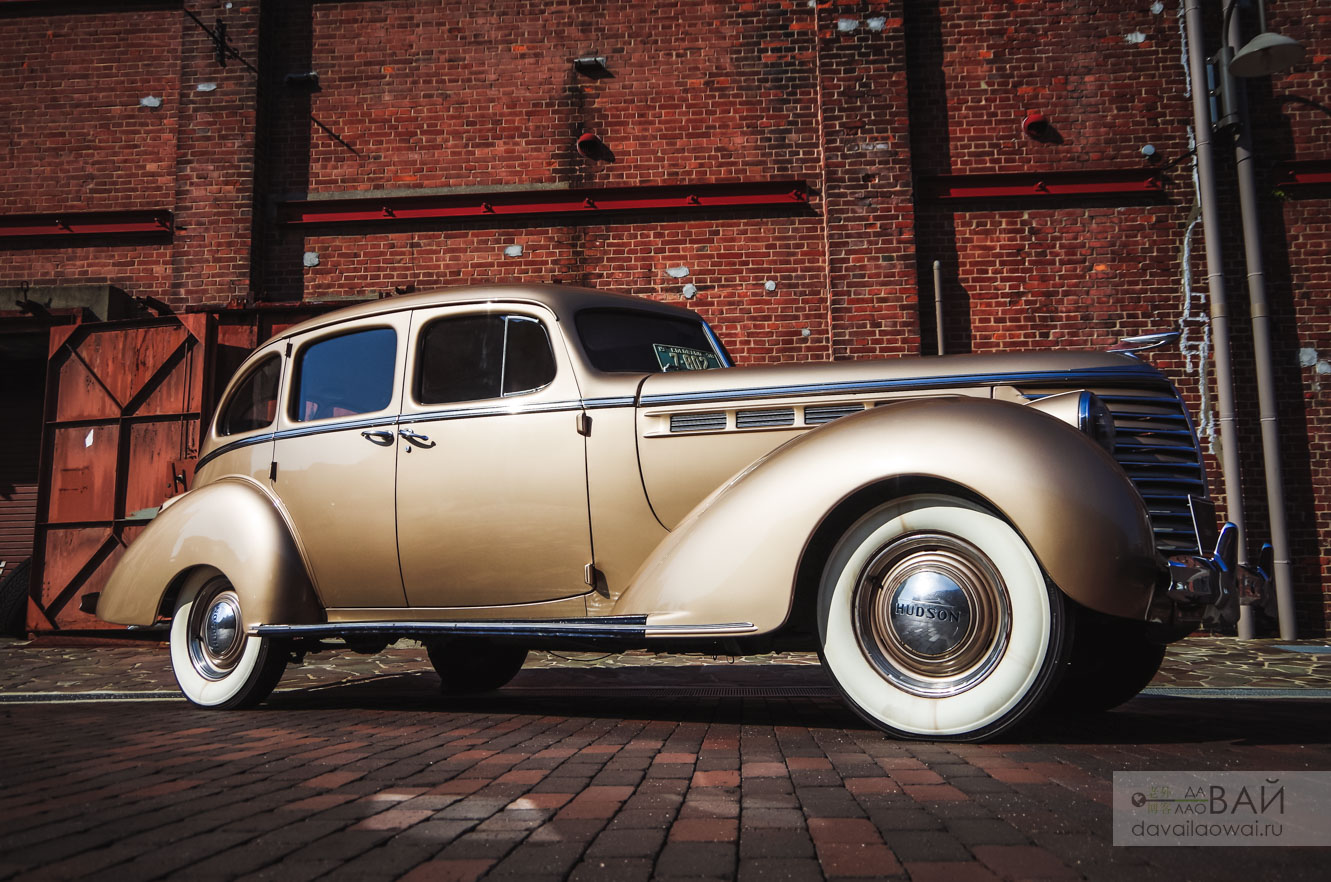 Hudson 112 custom coupe музей глион осака