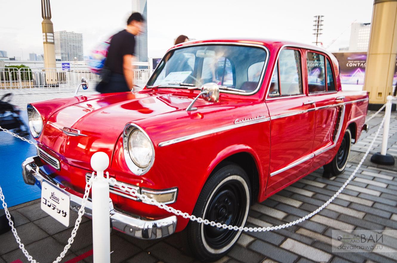 hino contassa pc 1961 tokyp motor show