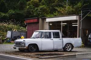 toyota stout custom pick up japan