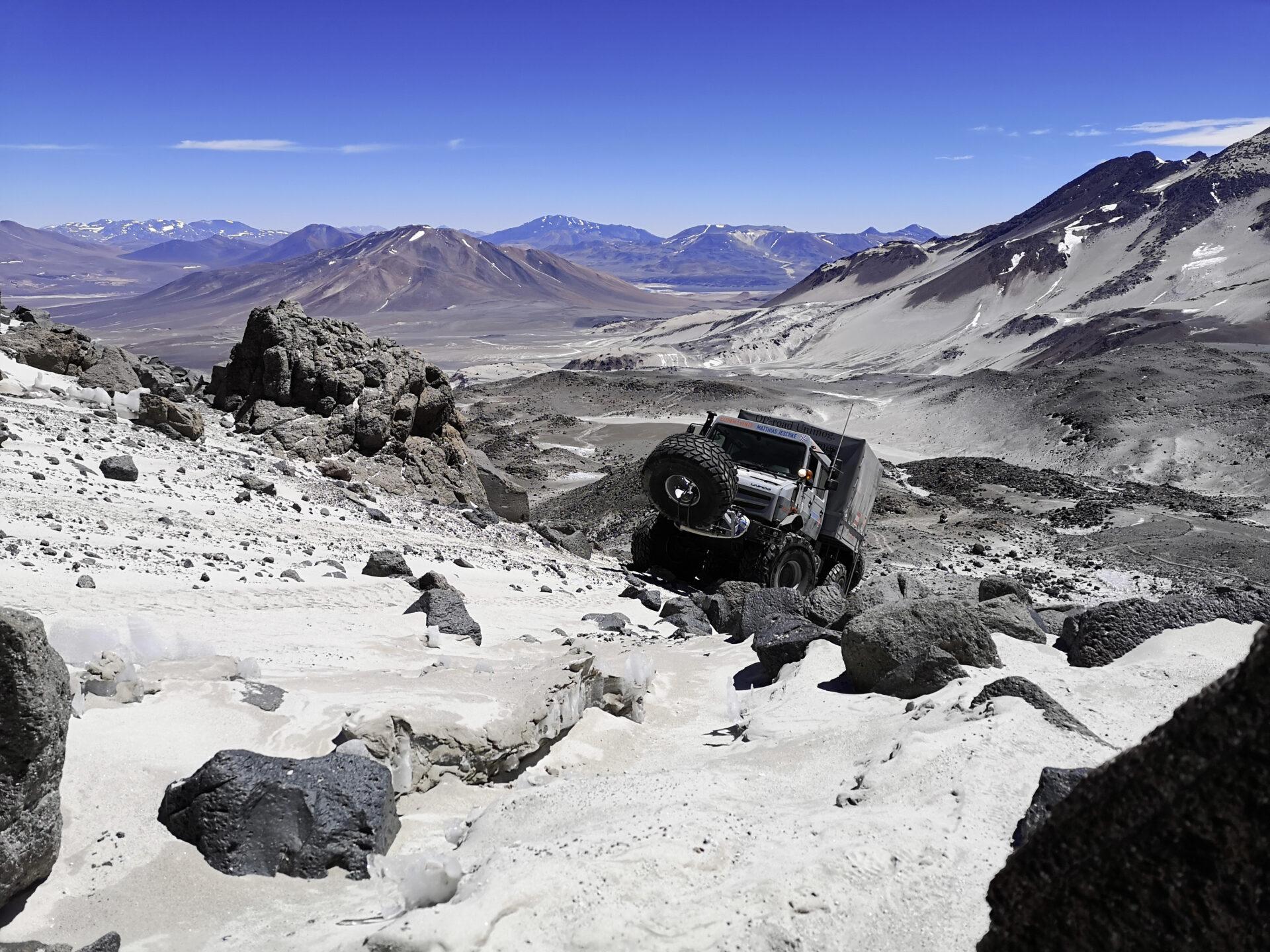 самый высокий вулкан в чили на Юнимоге