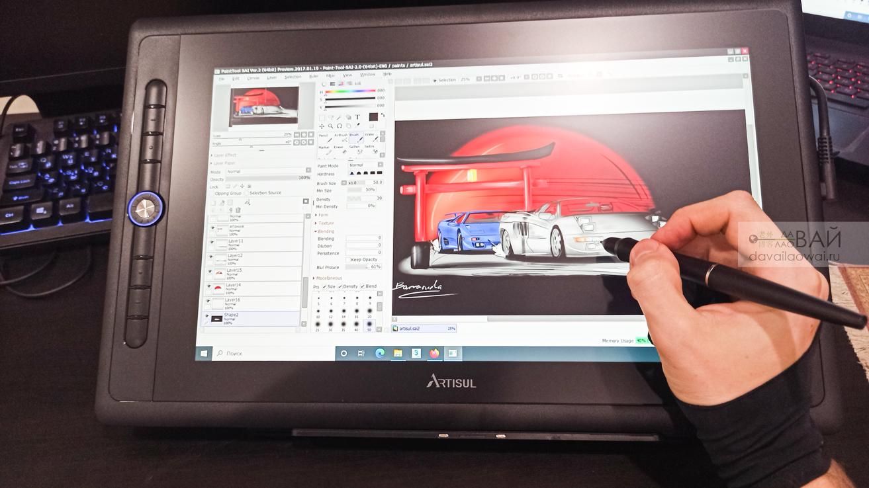 обзор планшета Artisul D16 pro